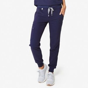 NWT FIGS ZAMORA 2.0 Navy Jogger Scrubs Pants